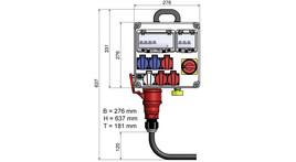 Electrical distributor panel 2