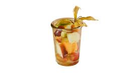 Frischer Obstsalat im Glas (180 ml)