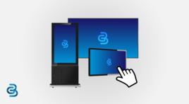 Touch-Displays, Infostelen