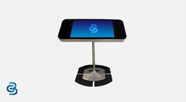 """Floorstand for touchscreen kiosk 27"""" – 43"""""""