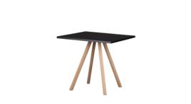 """""""About A Table 80/80"""" Sitztisch, schwarz, 424810"""