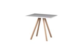 """""""About A Table 80/80"""" Sitztisch, weiß, 424808"""