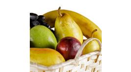 Obstkorb mit Handobst der Saison (ca. 3,5 kg)