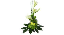 Floristisches Thekengesteck