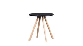 """""""About A Table"""" Sitztisch, Ø 70 cm, schwarz, 424803"""