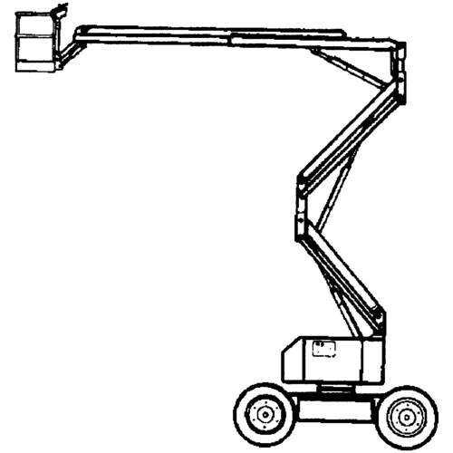 Articulated boomlift up to 16m