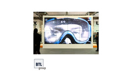 LCD-Steglos-Wände