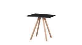 """""""About A Table 70/70"""" Sitztisch, schwarz, 424809"""