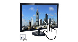 """22"""" LCD Touch-Display"""