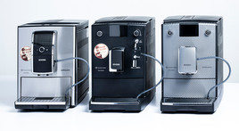Fully automated coffee machines