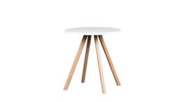 """""""About A Table"""" Sitztisch, Ø 70 cm, weiß, 424801"""