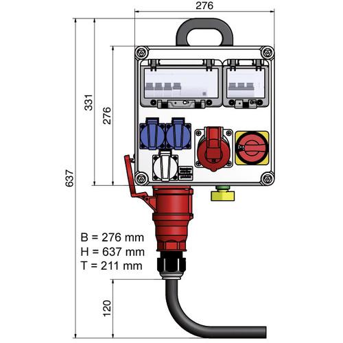 Elektro-Hauptanschluss Halle bis 5 kW inkl. Verbrauch/Erdung