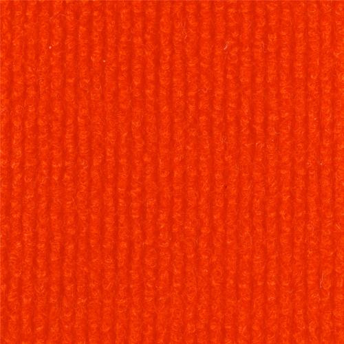 Eurorips, m² Teppich Bahnenware, orange, 91001B33