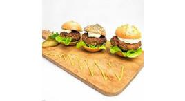 Bavarian mini burger