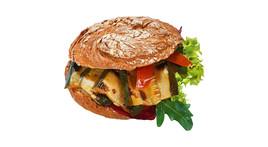 Vinschgerl-Sandwich - Zucchini & Tomate (vegan)