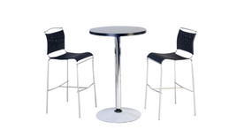 High table / chair suite Nino/Net