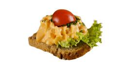 Canapé | Obazda | Schnittlauch (vegetarisch)