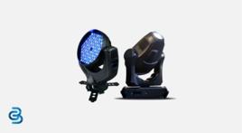 Effect spotlights, moving-head spotlights