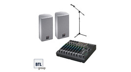 LIVE sound system for up to 40 m²